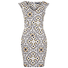 Buy French Connection Electric Mosaic Dress, Anemone Multi Online at johnlewis.com