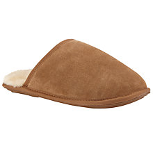 Buy John Lewis Sheepskin Lined Mule Slippers Online at johnlewis.com