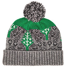 Buy Donna Wilson for John Lewis Leaf Hat, Grey Online at johnlewis.com
