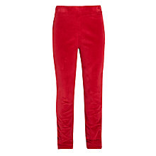 Buy John Lewis Girls' Cord Jeggings, Red Online at johnlewis.com