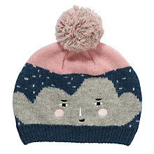 Buy John Lewis Cloud Hat, Blue/Pink Online at johnlewis.com
