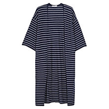 Buy Mango Striped Cardigan, Navy Online at johnlewis.com