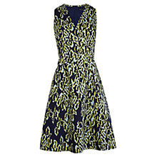 Buy Karen Millen Leopard Print Dress, Multi Online at johnlewis.com