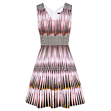 Buy Karen Millen 39 Graphic Tribal Print Dress, Multi Online at johnlewis.com