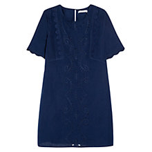 Buy Mango Embroidered Shift Dress Online at johnlewis.com