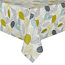 Buy John Lewis Leaves Rectangular Wipe Clean Tablecloth Online at johnlewis.com