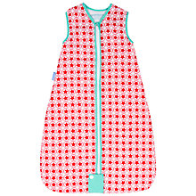 Buy Grobag Starlight Travel Baby Sleep Bag, 2.5 Tog, Red/White Online at johnlewis.com
