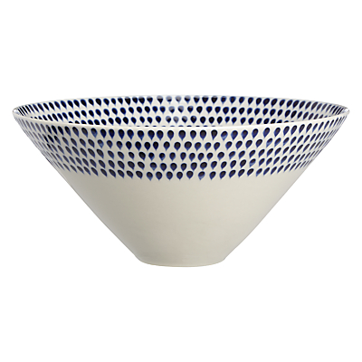 Nkuku Indigo Dr Serve Bowl