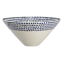 Buy Nkuku Indigo Dr Serve Bowl Online at johnlewis.com
