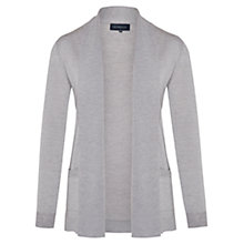 Buy Viyella Merino Wool Cardigan, Eglise Grey Online at johnlewis.com