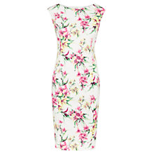 Buy Viyella Petite Tropicana Shift Dress, Ivory Online at johnlewis.com