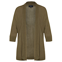 Buy Viyella Petite Light Cardigan, Khaki Online at johnlewis.com