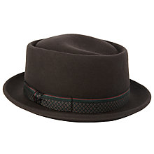 Buy JOHN LEWIS & Co. Wool Porkpie Hat Online at johnlewis.com