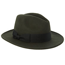 Buy JOHN LEWIS & Co. Wool Felt Fedora Hat Online at johnlewis.com