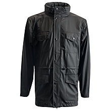 Buy Rains Four Pocket Jacket, Black Online at johnlewis.com