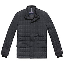 Buy Tommy Hilfiger Byram Quilted Jacket, Dark Shadow Online at johnlewis.com