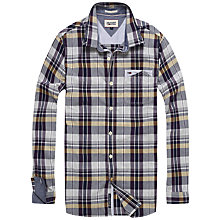Buy Hilfiger Denim Abel Checked Shirt, Black Iris/Multi Online at johnlewis.com