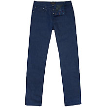 Buy Ted Baker T for Tall Fresno Slim Fit Printed Hem Jeans, Rinse Denim Online at johnlewis.com