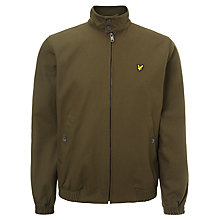 Buy Lyle & Scott Harrington Jacket, Dark Sage Online at johnlewis.com