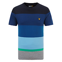 Buy Lyle & Scott Archive Stripe T-Shirt Online at johnlewis.com