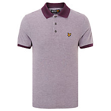 Buy Lyle & Scott Oxford Pique Polo Shirt Online at johnlewis.com