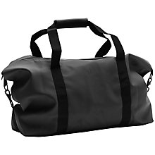 Buy Rains Travel Bag, Black Online at johnlewis.com