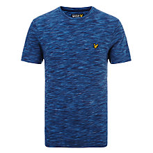 Buy Lyle & Scott Space Dyed Cotton T-Shirt, Admiral Blue Online at johnlewis.com