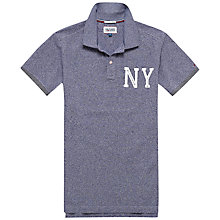 Buy Hilfiger Denim Kaz Melange Polo Shirt Online at johnlewis.com