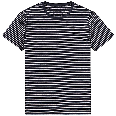 Hilfiger Denim Kent Stripe T-Shirt £35.00 AT vintagedancer.com
