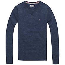 Buy Hilfiger Denim Ethan Solid Sweatshirt Online at johnlewis.com