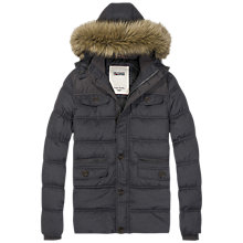 Buy Hilfiger Denim Johnny Hooded Coat, Tommy Black Online at johnlewis.com