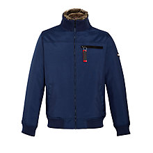 Buy Hilfiger Denim Donovan Bomber Jacket, Navy Online at johnlewis.com