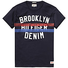 Buy Hilfiger Denim Terrance T-Shirt, Sky Captain Online at johnlewis.com