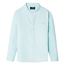 Buy Mango Kids Boys' Linen-Blend Mao Shirt Online at johnlewis.com