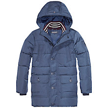Buy Tommy Hilfiger Boys' Back To School Jacket, Navy Online at johnlewis.com