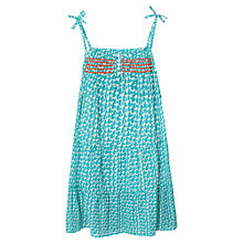 Buy Mango Kids Girls' Embroidered Dress Online at johnlewis.com