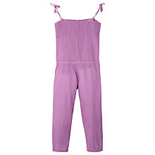 Buy Mango Kids Girls' Textured Jumpsuit Online at johnlewis.com