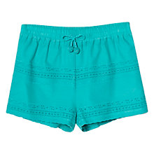 Buy Mango Kids Girls' Broderie Anglaise Shorts Online at johnlewis.com