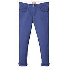 Buy Mango Kids Girls' Skinny Trousers, Medium Blue Online at johnlewis.com