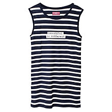 Buy Mango Kids Girls' Striped Print Dress Online at johnlewis.com