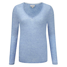 Buy Pure Collection Gassato Cashmere Curved Hem Sweater Online at johnlewis.com