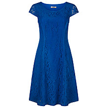 Buy Kaliko Lace Dress, Dark Blue Online at johnlewis.com