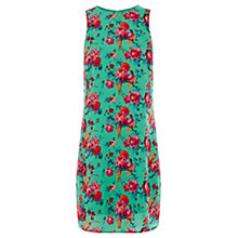 Buy Oasis Florentina Shift Dress, Multi Green Online at johnlewis.com