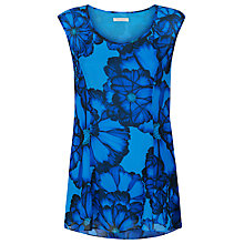 Buy Kaliko Printed Tunic Blouse, Azure Blue Online at johnlewis.com
