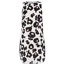 Buy Oasis Bold Shadow Shift Dress, Black/White Online at johnlewis.com