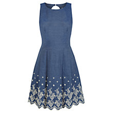 Buy Oasis Chambray Dress, Denim Online at johnlewis.com