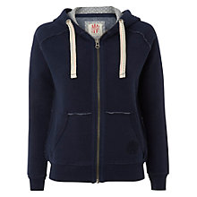 Buy White Stuff Louisa Hoodie, Navy Online at johnlewis.com