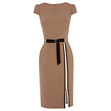 Buy Oasis Colourblock Pencil Dress, Multi Brown Online at johnlewis.com