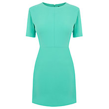 Buy Oasis Shift Dress, Mid Green Online at johnlewis.com