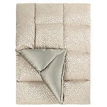 Buy John Lewis Fascino Throw, Gold Online at johnlewis.com